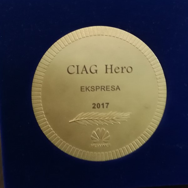 2017 Panama CIAG Hero Award