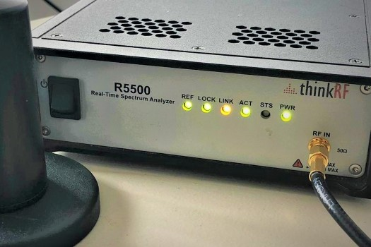 Image of the scanner used to measure LTE Coverage - CellDigitizer