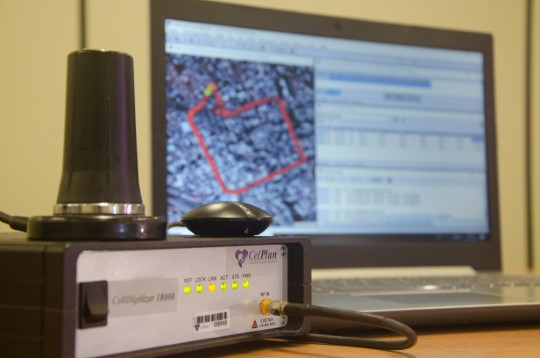 Solucion de Escaner y Analizador de Espectro CellWireless