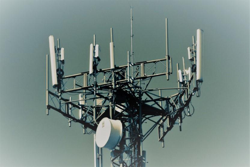 Radio Antennas in Tower