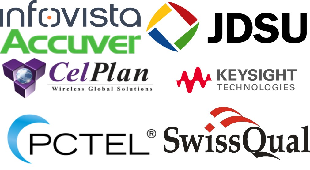 Some providers of Drive Test tools: Infovista, Accuver, Celplan, Keysight, JDSU, PCTEL, SwissQual