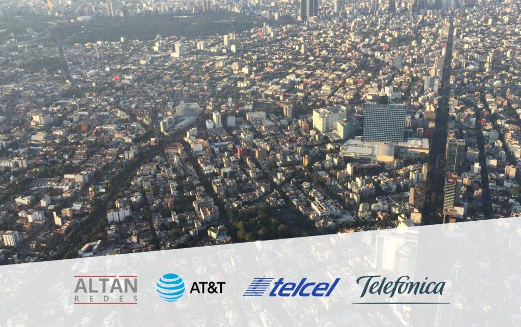 LTE coverage in Mexico City's road corridors
