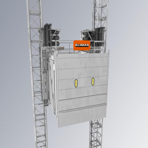 Elevadores verticales Alimak SE TM