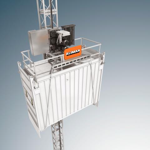 Elevadores verticales Alimak SH